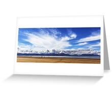 Inch Beach County kerry Ireland Greeting Card