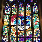 Magdalene Window at St Peter's Cathedral Adelaide by TonyCrehan