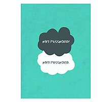 Wifi Password Photographic Print