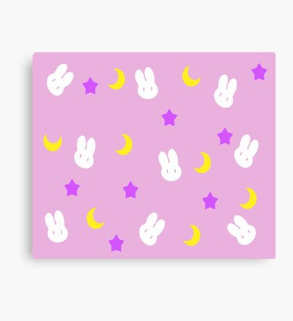 Usagi's Blanket Canvas Print