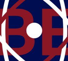 Brush Energies' Atom Logo Sticker