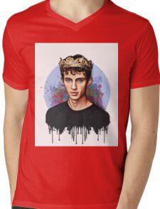 Troye  Mens V-Neck T-Shirt