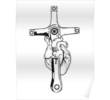 Heart of Cycling Poster