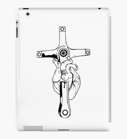 Heart of Cycling iPad Case/Skin