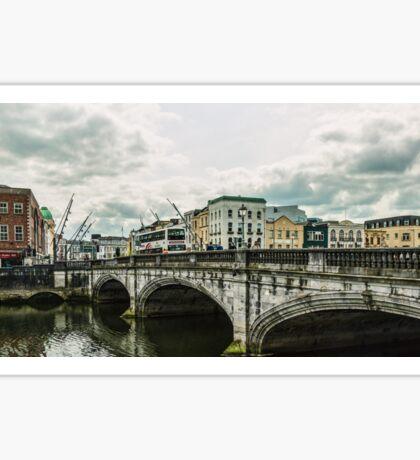 Saint Patrick's Bridge Cork, Ireland Sticker