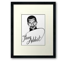 Thug Addict #1 v.3 Framed Print