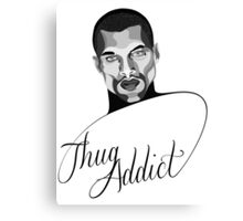 Thug Addict #1 v.3 Canvas Print