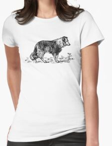 Vintage Collie - Woodcut style T-Shirt