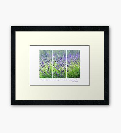 Deep into Nature Framed Print