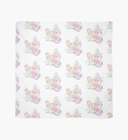 Technicolour Crystal Galaxy Graphic Illustration Scarf