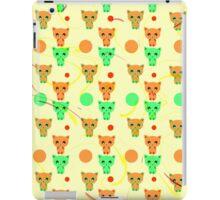 Cute happy kittens iPad Case/Skin
