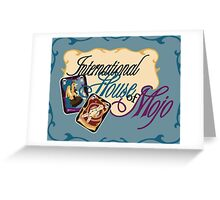 International House of Mojo Greeting Card