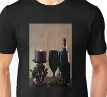 Wine For Two by Candlelight Unisex T-Shirt