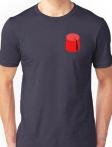 Red Fez of the Moors   Moorish American Clothing Unisex T-Shirt