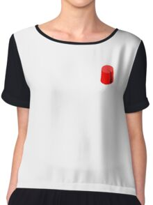 Red Fez of the Moors | Moorish American Clothing Chiffon Top