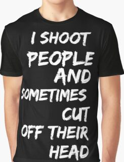 I am a photographer Graphic T-Shirt