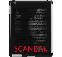 Olivia Pope isn't one of the good guys. She's the BEST guy  iPad Case/Skin