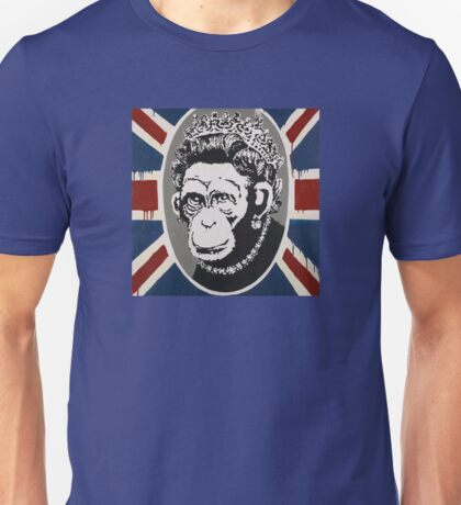 Banksy - Monkey Queen Unisex T-Shirt