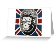 Banksy - Monkey Queen Greeting Card