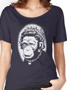 Banksy - Monkey Queen Women's Relaxed Fit T-Shirt