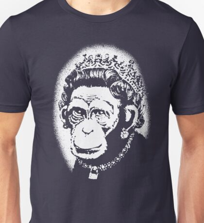 Banksy - Monkey Queen Unisex T-Shirt