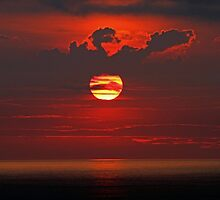 Sunrise over the Atlantic by Terri~Lynn Bealle