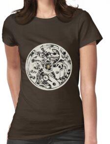 Clockwork Pineapple Womens Fitted T-Shirt