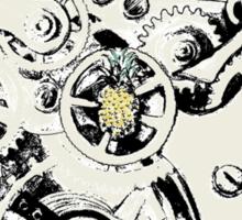 Clockwork Pineapple Sticker