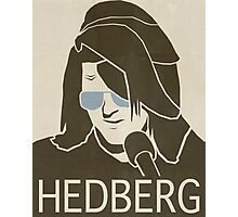 Mitch Hedberg Vintage Poster Photographic Print