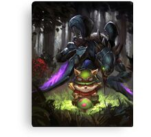 league of legends-teemo hunting Canvas Print