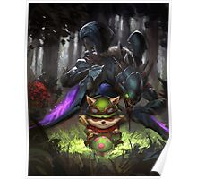 league of legends-teemo hunting Poster