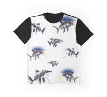 Friendly Sharks Graphic T-Shirt