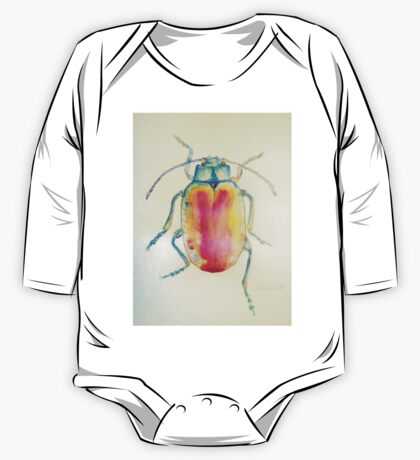Chrysolina Fatsuo by Liz H Lovell One Piece - Long Sleeve