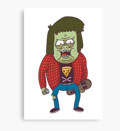 muscle man Canvas Print