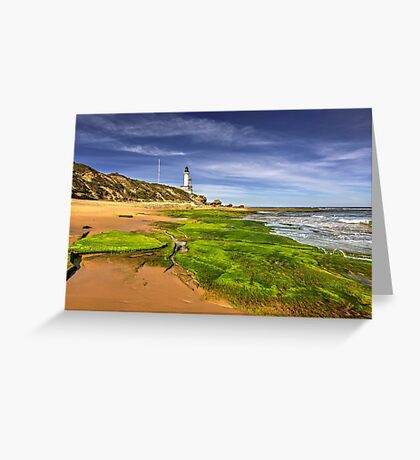 Low Tide at Pt.Lonsdale Greeting Card