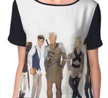 Men from Throne of Glass Chiffon Top