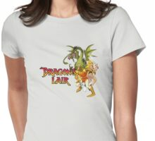 Dragons Lair - Dark Outline Womens Fitted T-Shirt