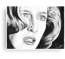 Dana Scully- Pusher Canvas Print