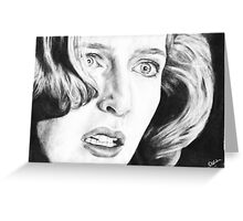 Dana Scully- Pusher Greeting Card