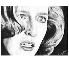 Dana Scully- Pusher Photographic Print
