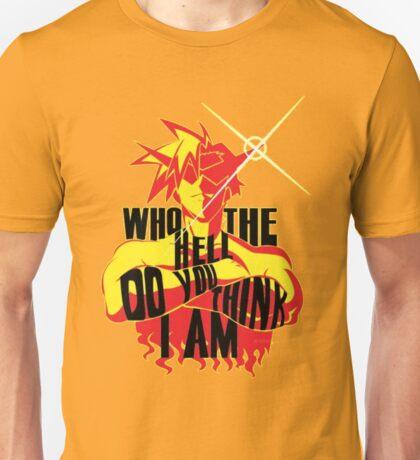 KAMINA - WHO THE HELL DO YOU THINK I AM? Unisex T-Shirt