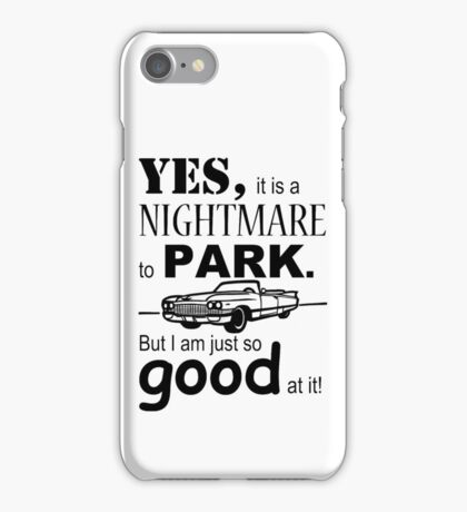 Cadillac Parking iPhone Case/Skin