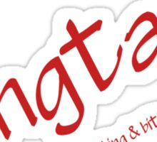 True Blood - Fangtasia, where drinking & biting mix! Sticker