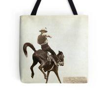 Bucking Bronco - John Grabill - 1888 Tote Bag
