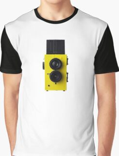 Camera Phone Case Graphic T-Shirt