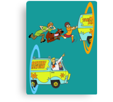 Scooby-Doo and Portal Too Canvas Print