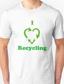 I Heart Recycling ( T-Shirt & Sticker ) T-Shirt