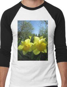 Tis Spring Men's Baseball ¾ T-Shirt