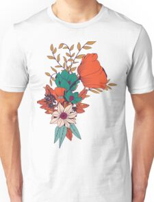 Botanical pattern 010 Unisex T-Shirt