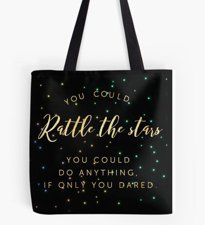 rattle the stars v1 Tote Bag